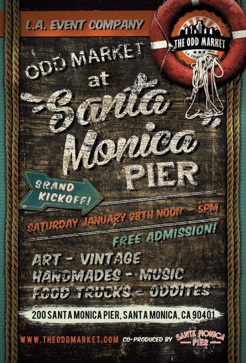 Odd Market Santa Monica Pier