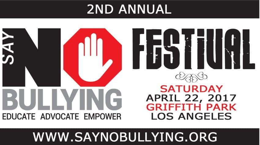 "2nd Annual ""Say NO Bullying"" Festival"