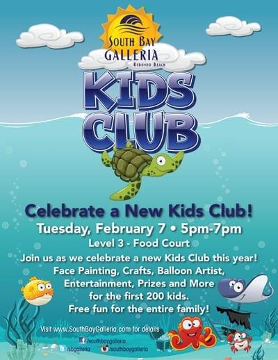 South Bay Galleria Kids Club