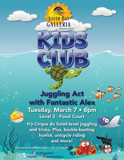 South Bay Galleria Kids Club