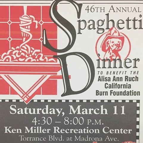 The Torrance Firefighters Association's Benefit Spaghetti Dinner