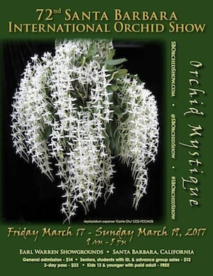 72nd Annual Santa Barbara International Orchid Show