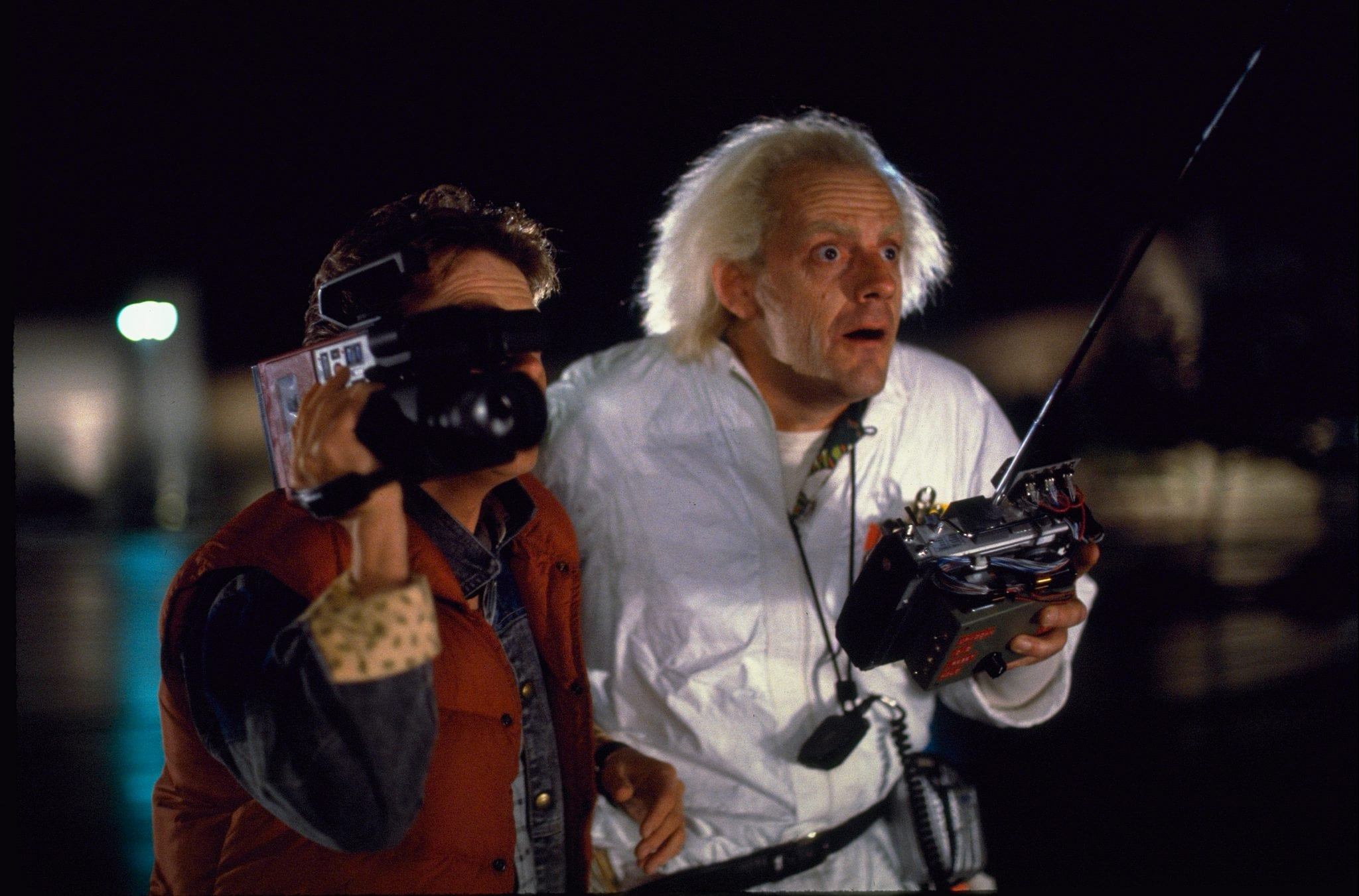 "Christopher Lloyd Goes ""Back to the Future"""
