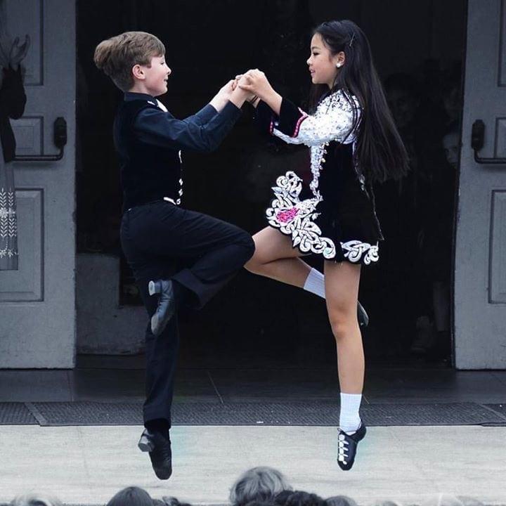 Cleary Irish Dance Performance