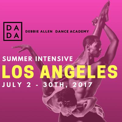 Debbie Allen Dance Academy Summer Intensive 2016