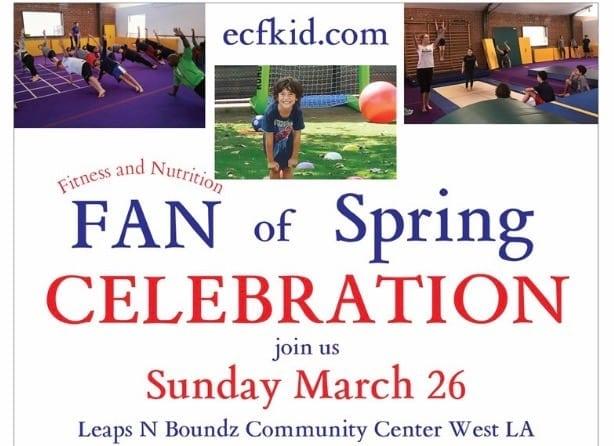 EC Kids Free Spring Gymnastic Celebration
