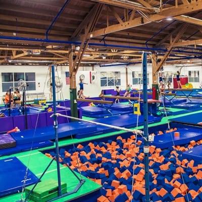 The Klub Gymnastics Spring Break Kamp and Summer Kamp