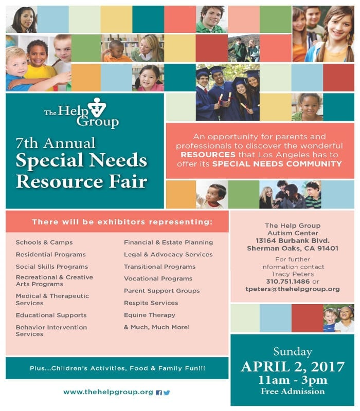 The Help Group's 7th Annual Special Needs Resource Fair