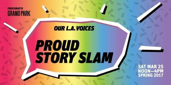 Grand Park's PROUD Story Slam