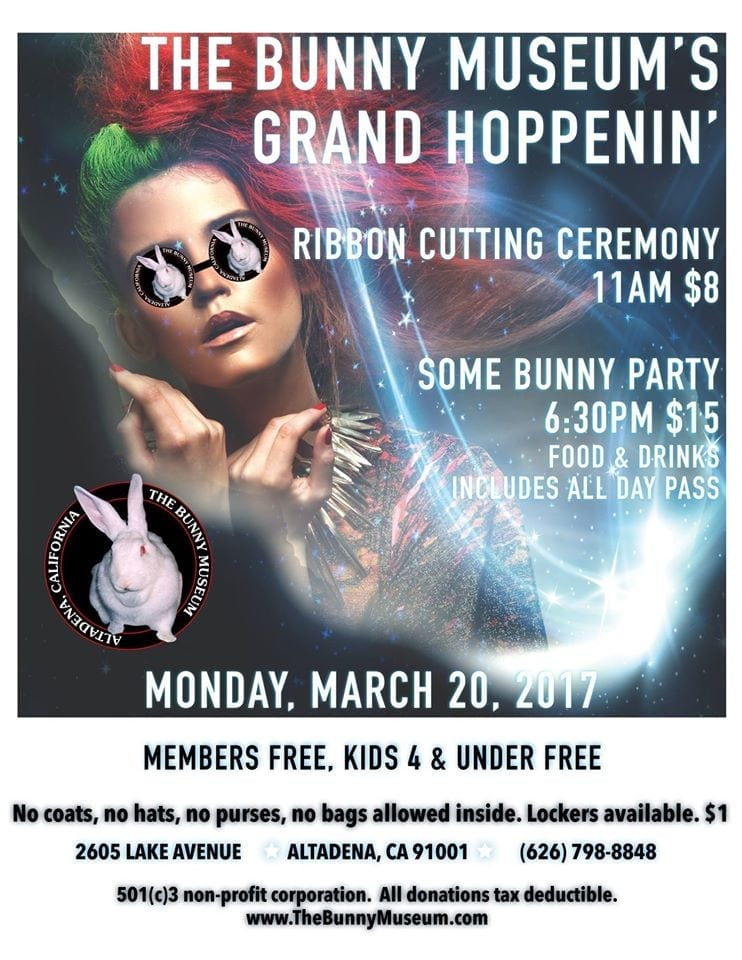 Grand Hoppenin' of The New Bunny Museum