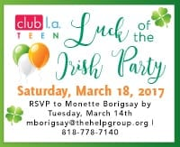 The Help Group's Luck of the Irish Party