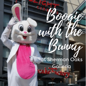 Meet the Easter Bunny at Sherman Oaks Galleria