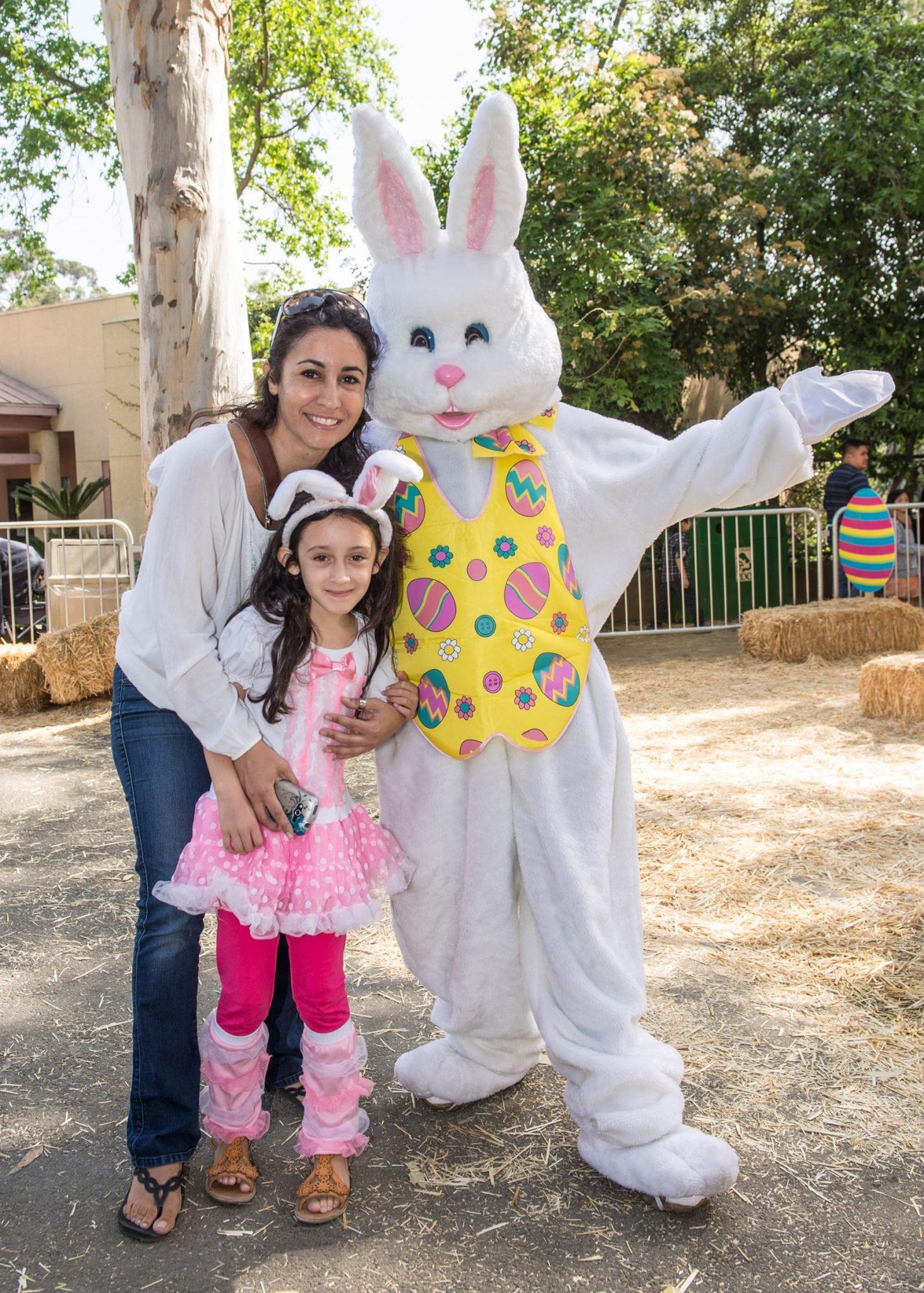 Big Bunny Spring Fling at the Los Angeles Zoo