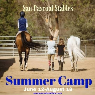 San Pascual Stables Summer Horse Camp