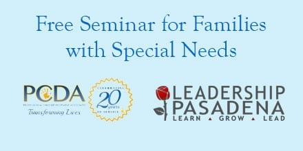 Free Seminar for Families with Special Needs