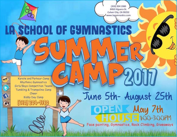 The Los Angeles School of Gymnastics Open House