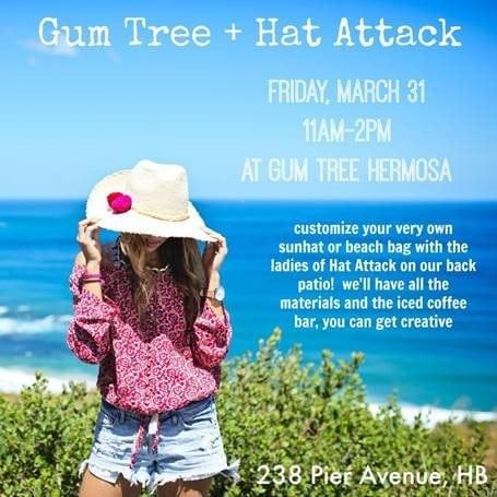Hat Attack + Gum Tree DIY Event!