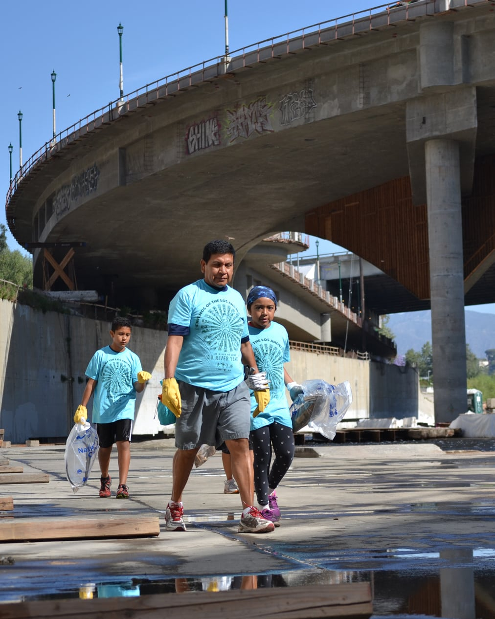 The 29th Annual Great Los Angeles River CleanUp