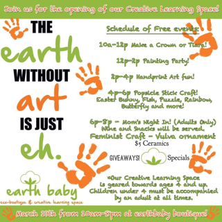 Earth Baby Creative Learning Space Opening Party