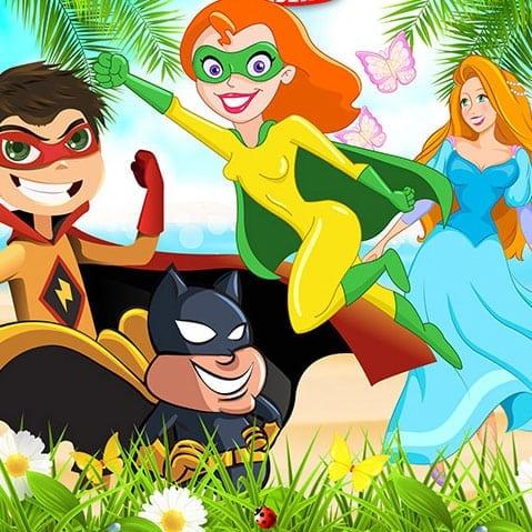 Superhero Princess Academy: The Spring Fling