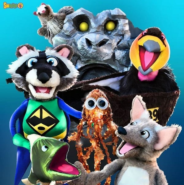 Ricky Raccoon and the Green Rangers Puppet Show