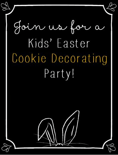 Easter Cookie Decorating Event At Villa Marina