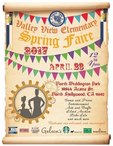 Valley View Elementary Spring Faire