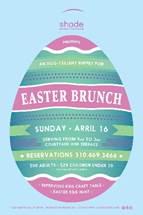 Shade Hotel Manhattan Beach's Easter Brunch