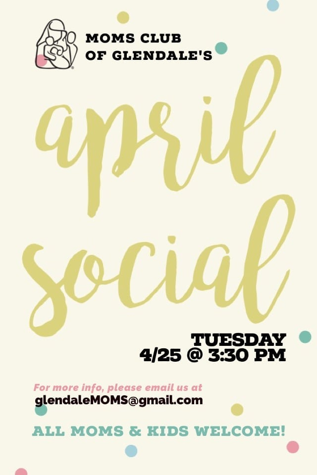 MOMS Club of Glendale April Social & Egg Hunt