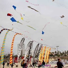 Otis College of Art & Design's Kite Festival