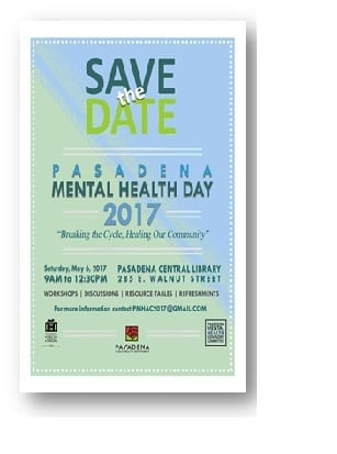 Pasadena Mental Health Day
