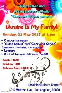 Ridna Shkola & Ukranian Dance Studio's Family Day Program