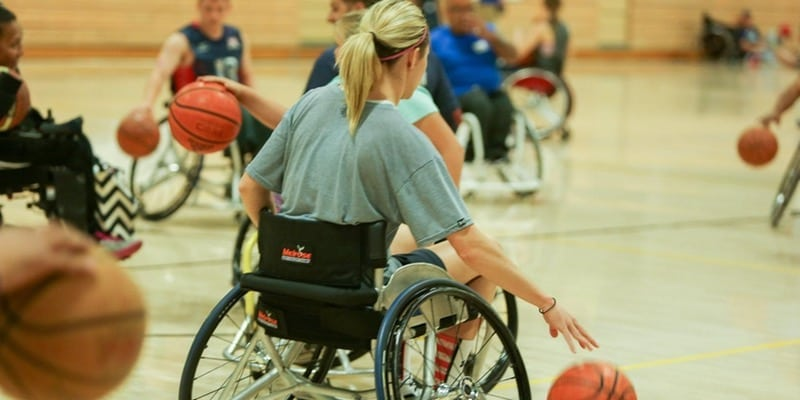 Angel City Sports Wheelchair Basketball Clinic