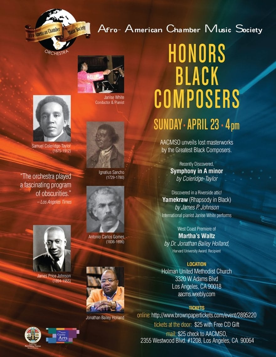 Afro-American Chamber Music Society Orchestra Concert