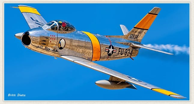 Living History Flying Day: F-86 Sabre