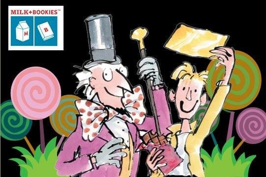 Milk + Bookies' Golden Ticket To Imagination Event