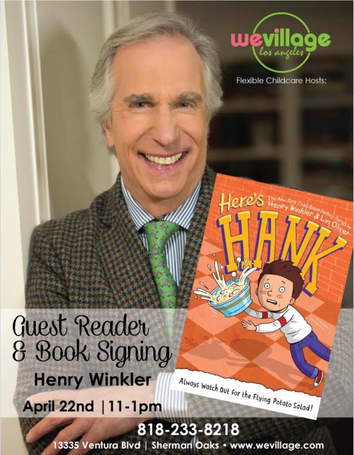 Henry Winkler Book Signing