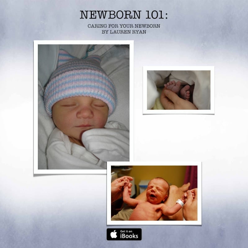Newborn 101 iBook Launch Party