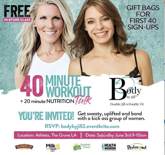 Free Workout at the Grove