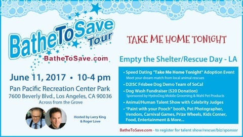 Bathe To Save's Empty The Shelter/Rescue Day - LA