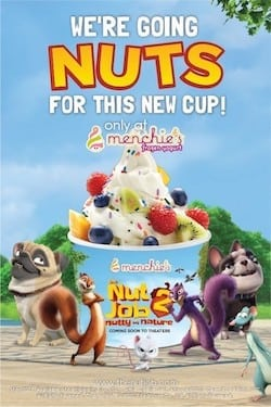 Meet The Nut Job 2's Surly the Squirrel at Menchie's