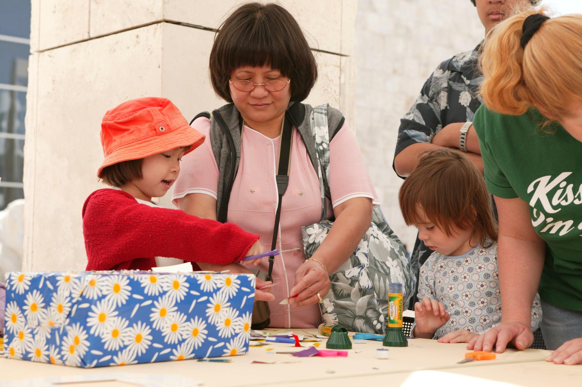 Getty Center Family Festival: Eyewitness Views