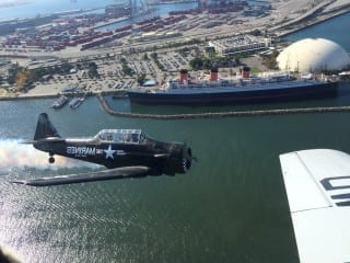 Queen Mary's Memorial Day Salute And Air Show