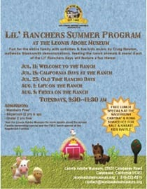 Lil' Ranchers Summer Program