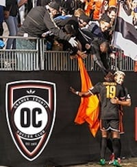 Orange County Professional Soccer Club Game