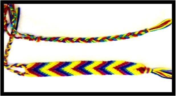 Teen Pride! Rainbow Bracelets at Cahuenga Library