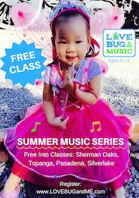 LoveBug & Me Music Summer Demo Class