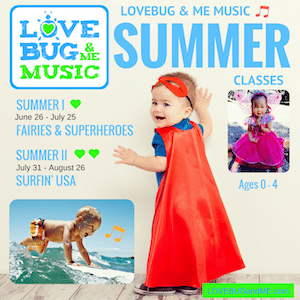 LoveBug & Me Music Demo Class