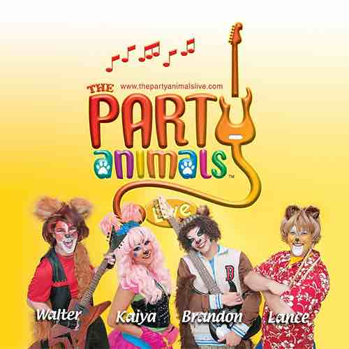 Party Animals at Levitt Pavilion Pasadena
