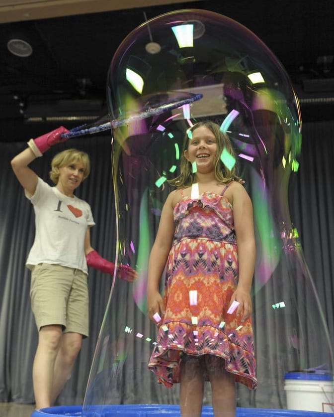 Bubble Science Show at the Santa Monica Public Library